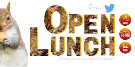 OPEN Lunch Aix-en-Provence : Twitter peut-il être utile pour la prospection des TPE/PME ? billets