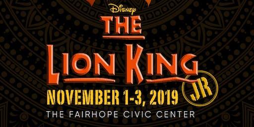 ESRT presents Disney's The Lion King JR.