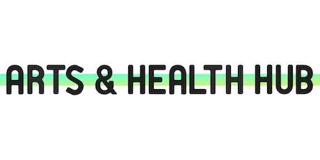 Arts & Health Hub: October Peer Group tickets