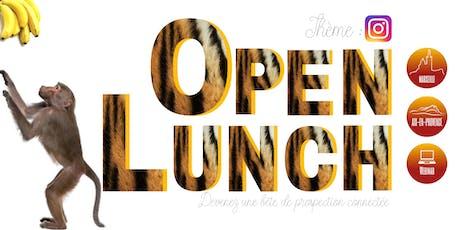 OPEN Lunch Aix-en-Provence : Pourquoi toutes les entreprises doivent se mettre à Instagram ? billets