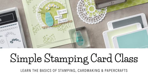 Simple Stamping Card Class