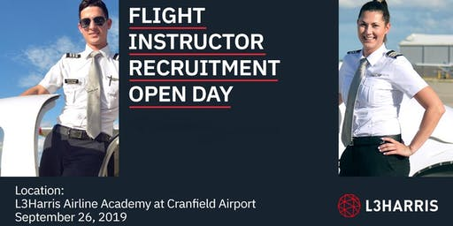 Flight Instructor Open Day: Cranfield - September 26, 2019
