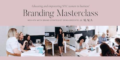 Branding Masterclass with Erika Brechtel & Alala: NYC tickets