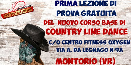 LEZIONE DI PROVA GRATUITA A MONTORIO (VR) - COUNTRY LINE DANCE biglietti