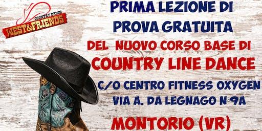 LEZIONE DI PROVA GRATUITA A MONTORIO (VR) - COUNTRY LINE DANCE