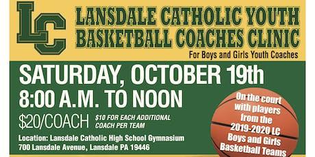 Lansdale Catholic Youth Basketball Coaches Clinic tickets