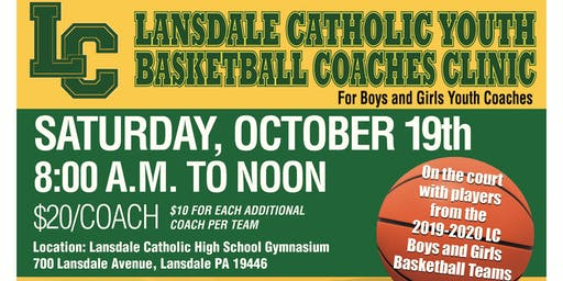 Lansdale Catholic Youth Basketball Coaches Clinic