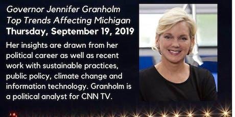 Governor Jennifer Granholm: Top Trends Affecting Michigan tickets
