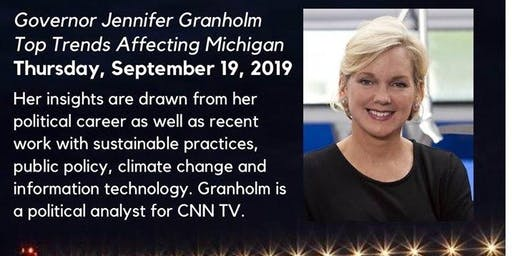 Governor Jennifer Granholm: Top Trends Affecting Michigan