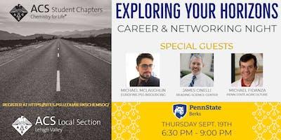 ACS Exploring Your Horizons Career & Networking Night