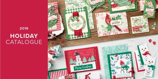 Stampin' Up! Christmas Card  Workshop  at the Grimsby Museum