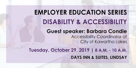 Employer Education Series – Disability & Accessibility Information Session tickets