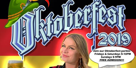 Oktoberfest: Live show - Food - Beer -  Fun - Games @ Edelweiss German Bierhaus and Restaurant tickets