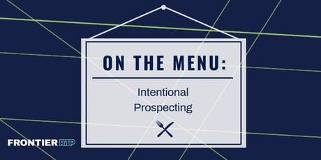 On the Menu {Intentional Prospecting} tickets