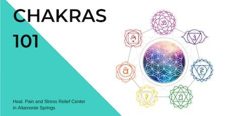 Chakras 101 tickets