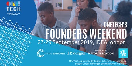 OneTech's Founders Weekend - come with an idea and leave with a business (for 18-24 year olds) tickets