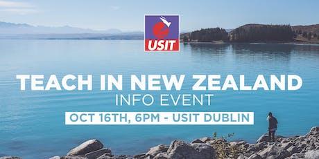 Teach in New Zealand Info Talk tickets