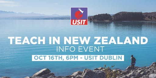 Teach in New Zealand Info Talk