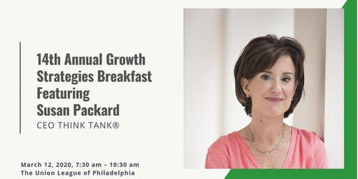 14th ANNUAL GROWTH STRATEGIES BREAKFAST
