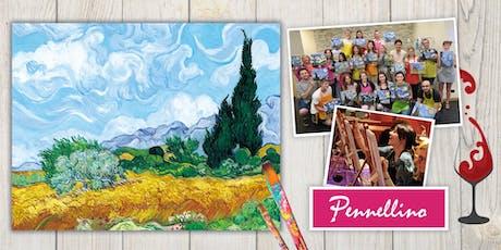 Paint like Van Gogh - evento di pittura social biglietti