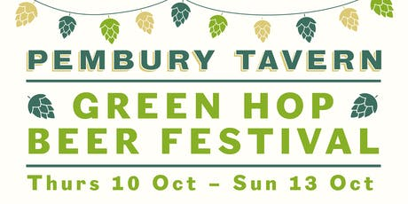 Green Hop Beer Festival at The Pembury Tavern tickets