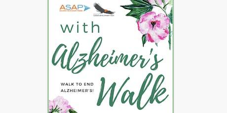 2019 Alzheimer's Walk tickets