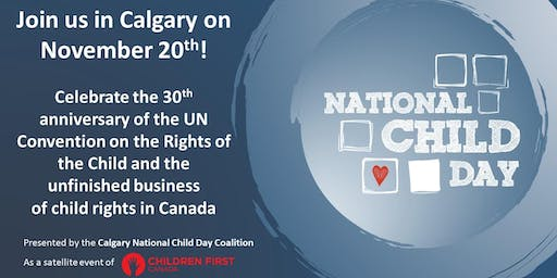 National Child Day in Calgary