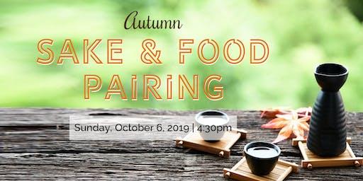 Autumn Sake & Food Pairing