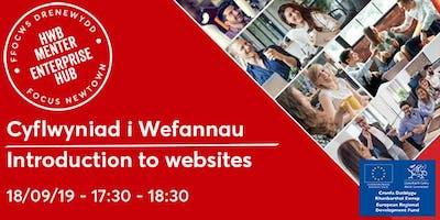Introduction to Websites | Cyflwyniad i Wefannau