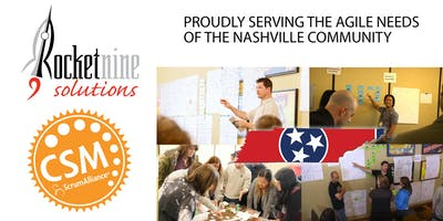 Nashville Early Jan Certified Scrum Master Training (CSM)