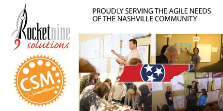 Nashville Early Jan Certified Scrum Master Training (CSM) tickets