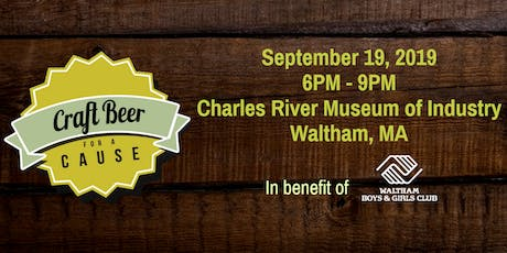 Craft Beer for a Cause tickets