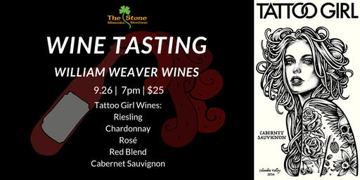 Tattoo Girl Wine Tasting