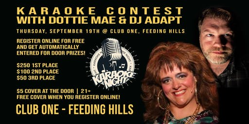 Thursday, Sept 19: Karaoke with Dottie Mae & DJ Adapt