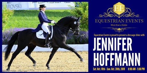 Jennifer Hoffmann Dressage Clinic