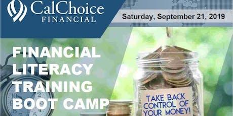 Sacramento CalChoice Financial Literacy Bootcamp CalChoice Representative tickets