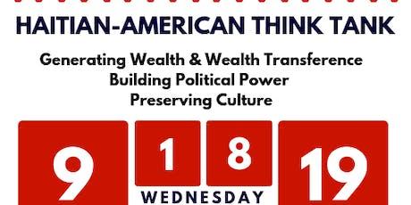 Haitian-American Think Tank tickets
