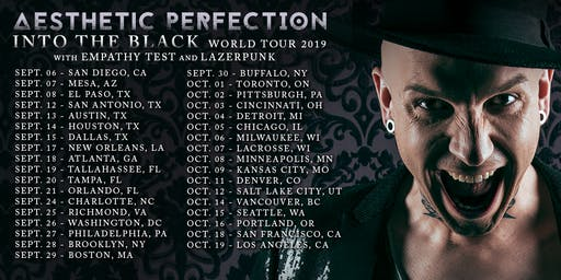 AESTHETIC PERFECTION, EMPATHY TEST, LAZERPUNK & IIOIOIOII AT THE MILESTONE