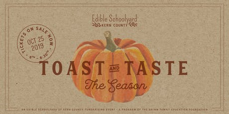 Toast + Taste the Season  tickets