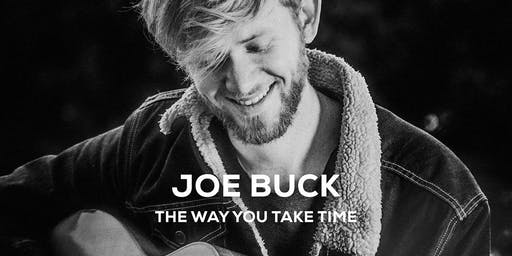Joe Buck @ De Cactus (Country, Pop), support: Luuk Schmidt