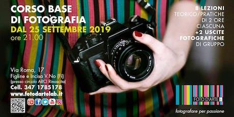 Corso Fotografia BASE 2019 biglietti