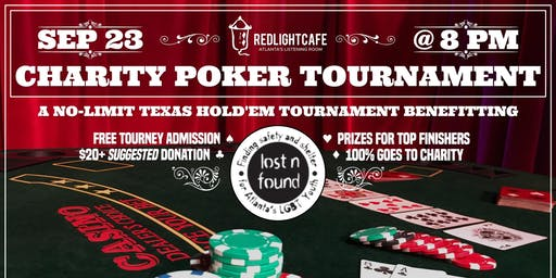 RLC Charity Poker Tournament for Lost-n-Found Youth