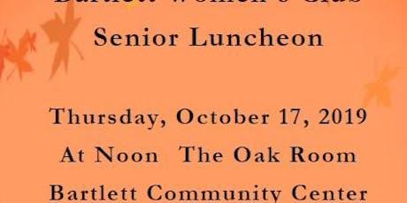 Senior Luncheon tickets