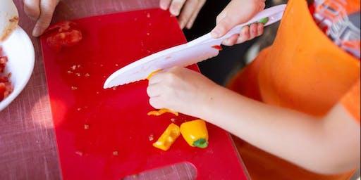 Toddler Test Kitchen at Vertuccio Farms