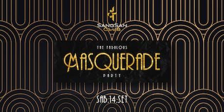 Sangsan Club Masquerade ingressos