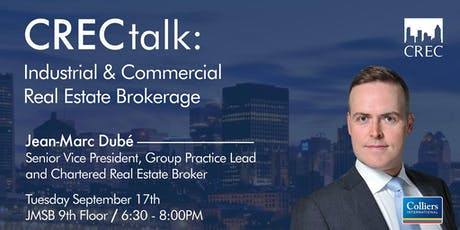 CRECtalk: Industrial and Commercial Real Estate Brokerage tickets