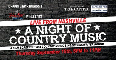 VIP Film Screening + Q&A w/ Joe Gilchrist + Country Music Songwriters