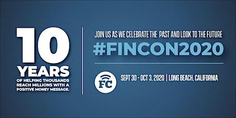 #FinCon2020: Where Money & Media Meet tickets