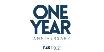 F45 Anniversary Party