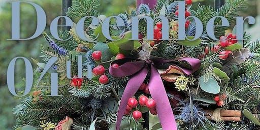 CHRISTMAS TRADITIONAL WREATH WORKSHOP 4TH DEC